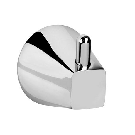 Croydex - Canterbury Flexi-Fix Robe Hook - Chrome - QM421741
