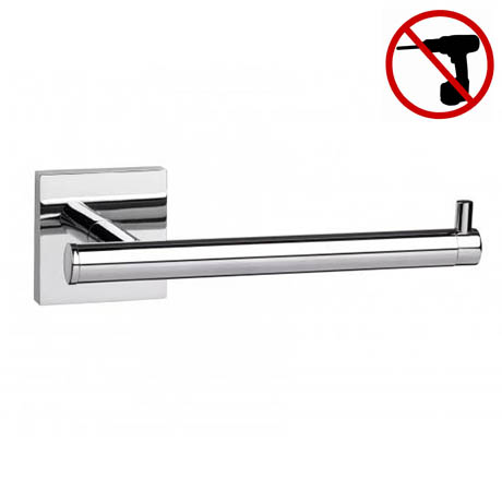 Croydex Chester Flexi-Fix Toilet Roll Holder - QM441141