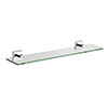 Croydex Chester Flexi-Fix Glass Shelf - QM441441 Medium Image