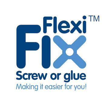 Croydex - Worcester Flexi-Fix Glass Shelf - QM461441 profile large image view 2