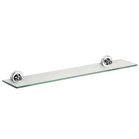 Croydex - Worcester Flexi-Fix Glass Shelf - QM461441