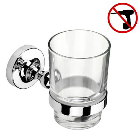 Croydex - Worcester Flexi-Fix Tumbler and Holder - QM461841