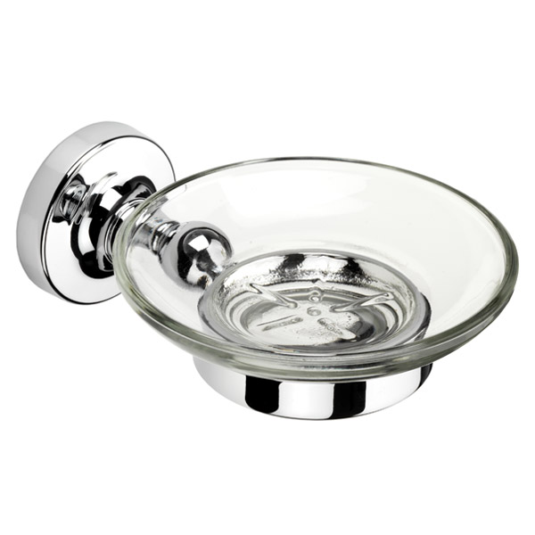 Croydex - Worcester Flexi-Fix Soap Dish and Holder - QM461941 Large Image
