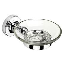 Croydex - Worcester Flexi-Fix Soap Dish and Holder - QM461941 Medium Image