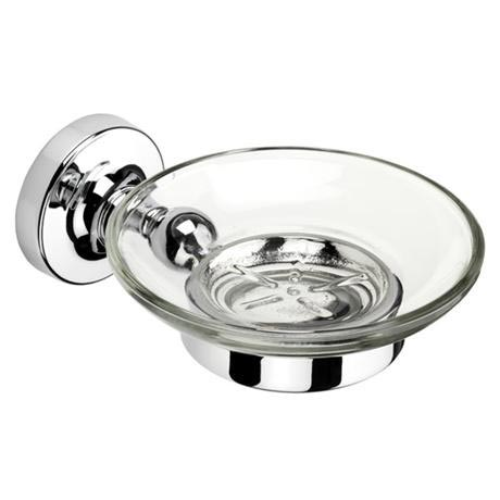 Croydex - Worcester Flexi-Fix Soap Dish and Holder - QM461941