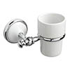 Croydex - Rushmoor Flexi-Fix Tumbler and Holder - QM471841 profile small image view 1