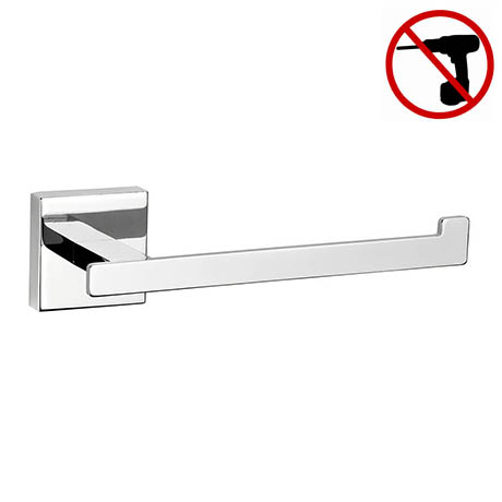 Croydex Cheadle Flexi-Fix Toilet Roll Holder - QM511141