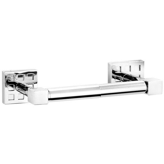 Croydex Perivale Toilet Roll Holder - Chrome - QM651141