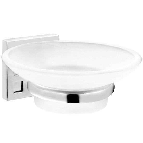 Croydex Perivale Soap Dish - Chrome - QM651941