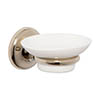 Croydex Grosvenor Flexi-Fix Soap Dish & Holder - Gold - QM701903 Medium Image