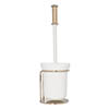 Croydex Grosvenor Flexi-Fix Toilet Brush & Holder - Gold - QM702403 Medium Image