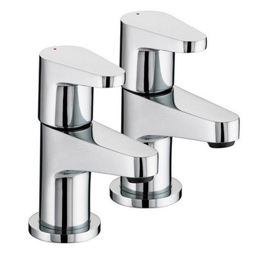 Bristan Quest Contemporary Bath Taps - Chrome - QST-3/4-C profile large image view 1