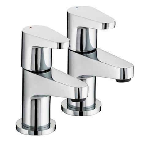 Bristan Quest Contemporary Bath Taps - Chrome - QST-3/4-C