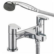Bristan Quest Contemporary Bath Shower Mixer - Chrome - QST-BSM-C Medium Image