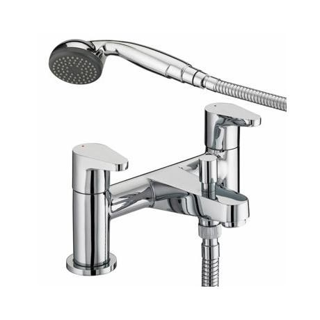 Bristan Quest Contemporary Bath Shower Mixer - Chrome - QST-BSM-C