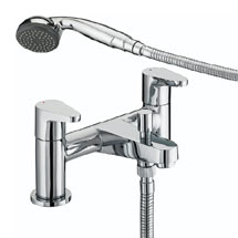 Bristan Quest Contemporary Bath Shower Mixer - Chrome - QST-BSM-C Medium Image