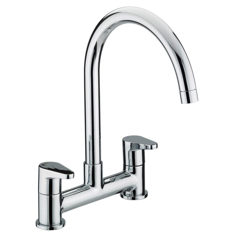 Bristan - Quest Deck Kitchen Sink Mixer - QST-DSM-C Large Image