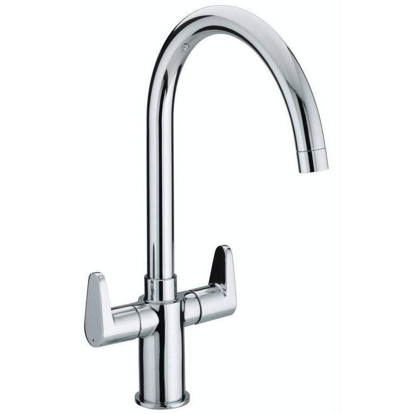 Bristan - Quest Easy Fit Monobloc Kitchen Sink Mixer - QST-SNK-EF-C Large Image