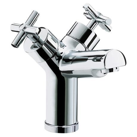 Bristan Quadrant 1 Hole Bath Filler - Chrome - QT-1HBF-C