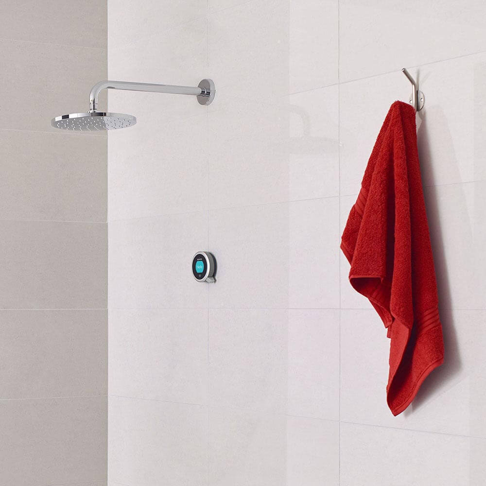 Aqualisa Q Smart Digital Concealed Shower with Fixed Wall Head