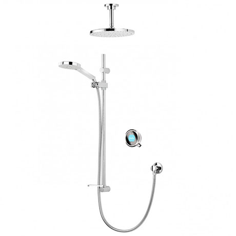 Aqualisa Q Smart Digital Concealed Shower with Adjustable and Fixed Ceiling Heads