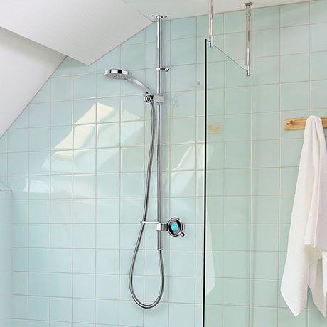 Aqualisa Q Smart Digital Exposed Shower with Adjustable Head