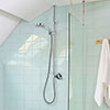 Aqualisa Q Smart Digital Exposed Shower with Adjustable Head profile small image view 1
