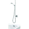 Aqualisa Q Smart Digital Exposed Shower with Adjustable Head and Bath Overflow Filler profile small image view 1
