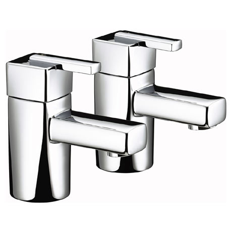 Bristan - Qube Bath Taps - Chrome - QU-3/4-C