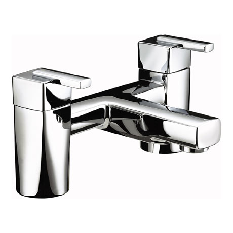 Bristan - Qube Bath Filler - Chrome - QU-BF-C