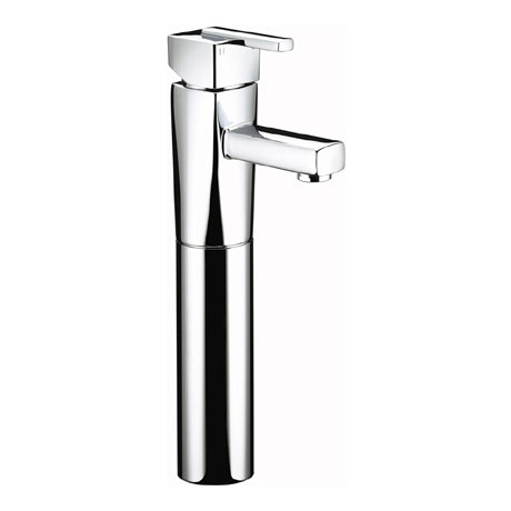 Bristan - Qube Tall Basin Mixer (no waste) - Chrome - QU-TBAS-C