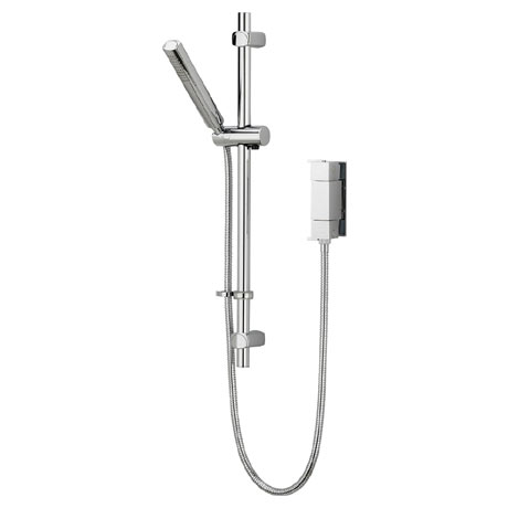 Bristan - Qube Vertical Thermostatic Valve with Adjustable Riser