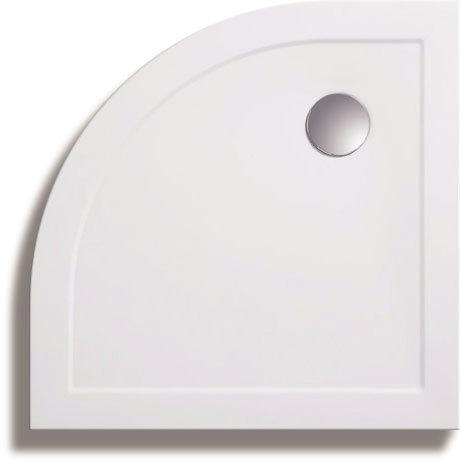 Zamori - 35mm Quadrant Shower Tray - ZAM-QUAD Large Image