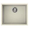 Reginox Quadra 105 1.0 Bowl Undermount Granite Kitchen Sink - Cream profile small image view 1