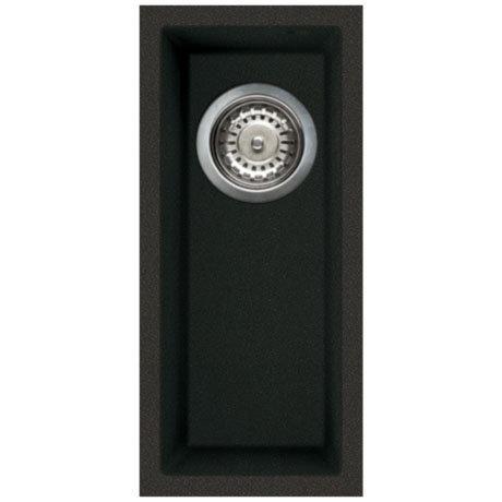 Reginox Quadra 50 1.0 Bowl Undermount Granite Kitchen Sink - Black