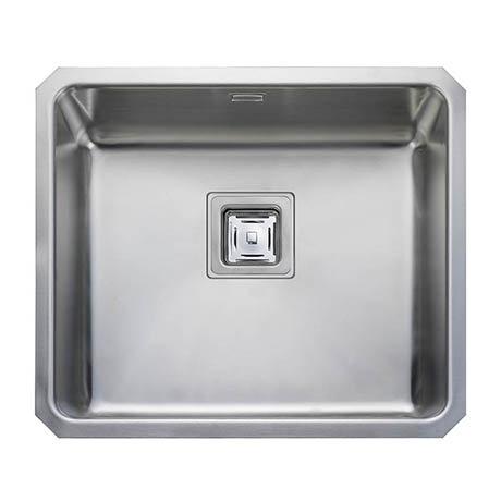 Rangemaster Atlantic Quad QUB48 Stainless Steel Undermount Kitchen Sink 530 x 450mm