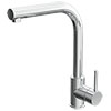 Quebec Modern Chrome Kitchen Sink Mono Mixer Tap with Pull-Out Spray profile small image view 1