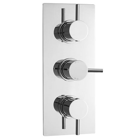 Ultra Quest Concealed Thermostatic Triple Shower Valve with Built-in Diverter