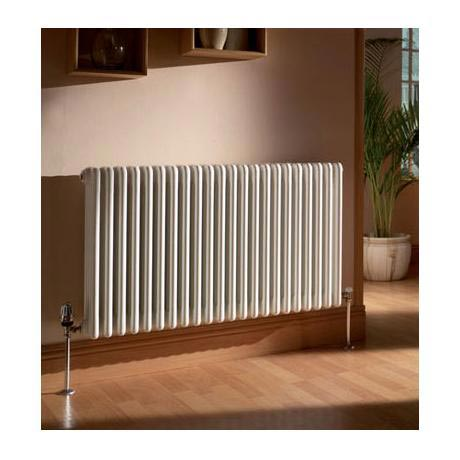 Quinn Forza 3 Column Radiator - Horizontal - White - 16 x Size Options