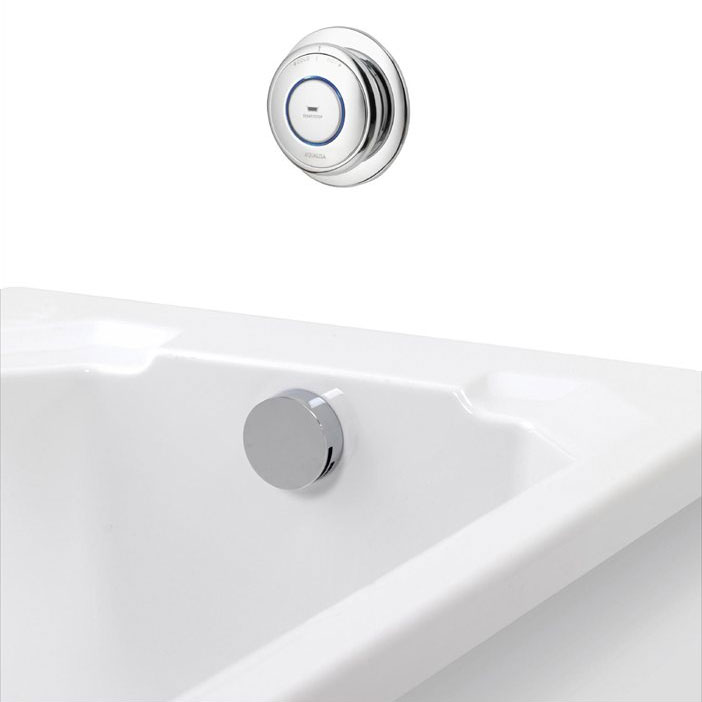 Aqualisa - Quartz Digital Bath Filler with Digital Control Large Image
