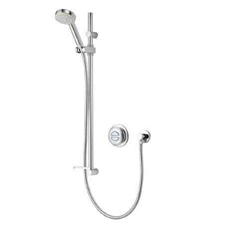 Aqualisa - Quartz Digital Concealed Thermostatic Shower with Slide Rail Kit