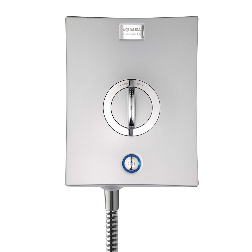 Aqualisa - Quartz Electric Shower - Chrome Feature Large Image
