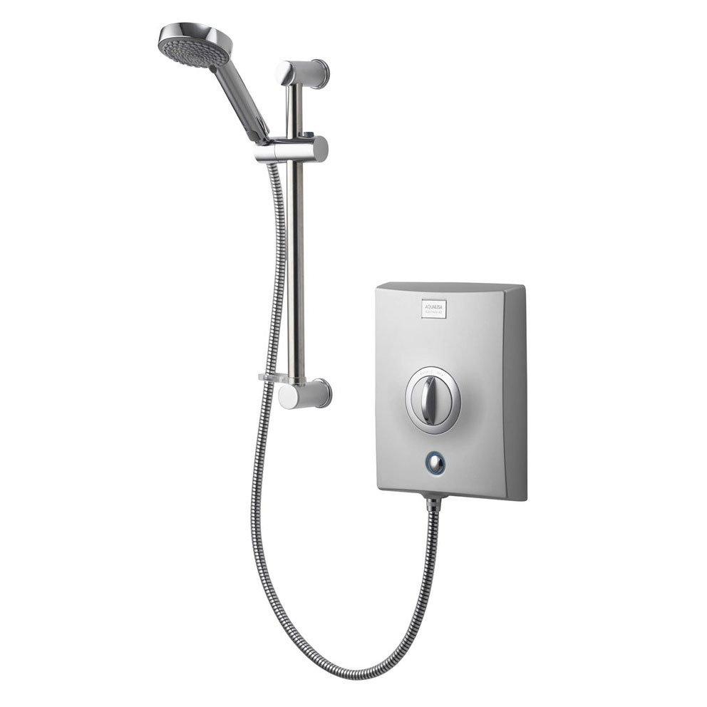 Aqualisa - Quartz Electric Shower - Chrome Large Image