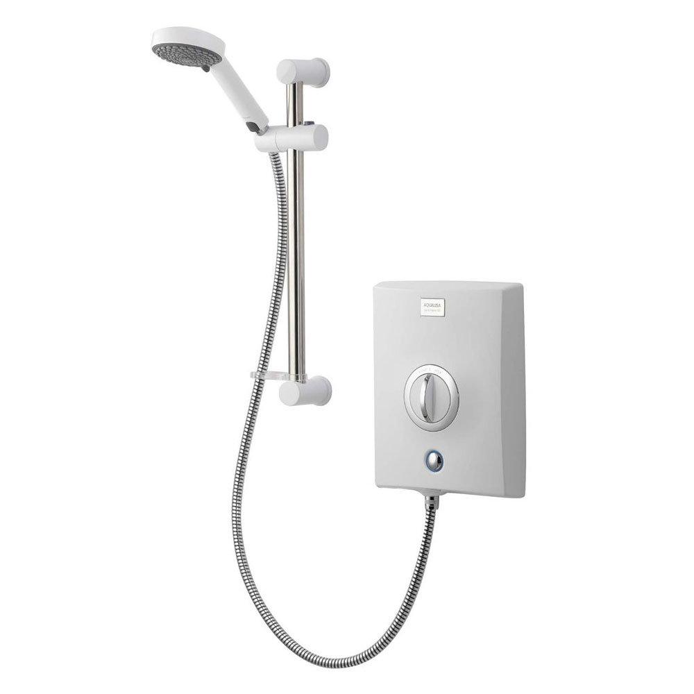 Aqualisa - Quartz Electric Shower - White/Chrome Large Image