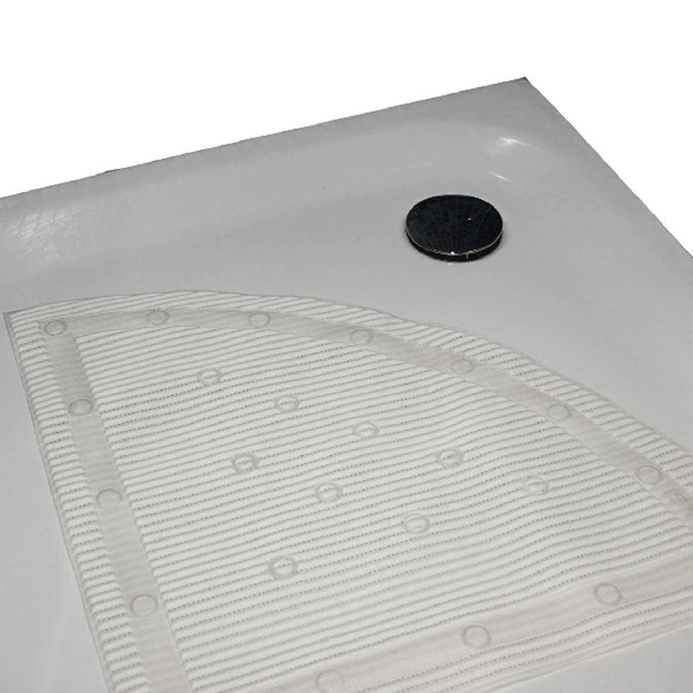 Quadrant Anti-Slip Shower Mat profile large image view 2