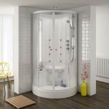 Quadrant Hydro Massage Shower Cabin Enclosure - HMC001 Medium Image