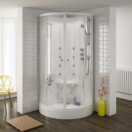 Quadrant Hydro Massage Shower Cabin Enclosure - HMC001