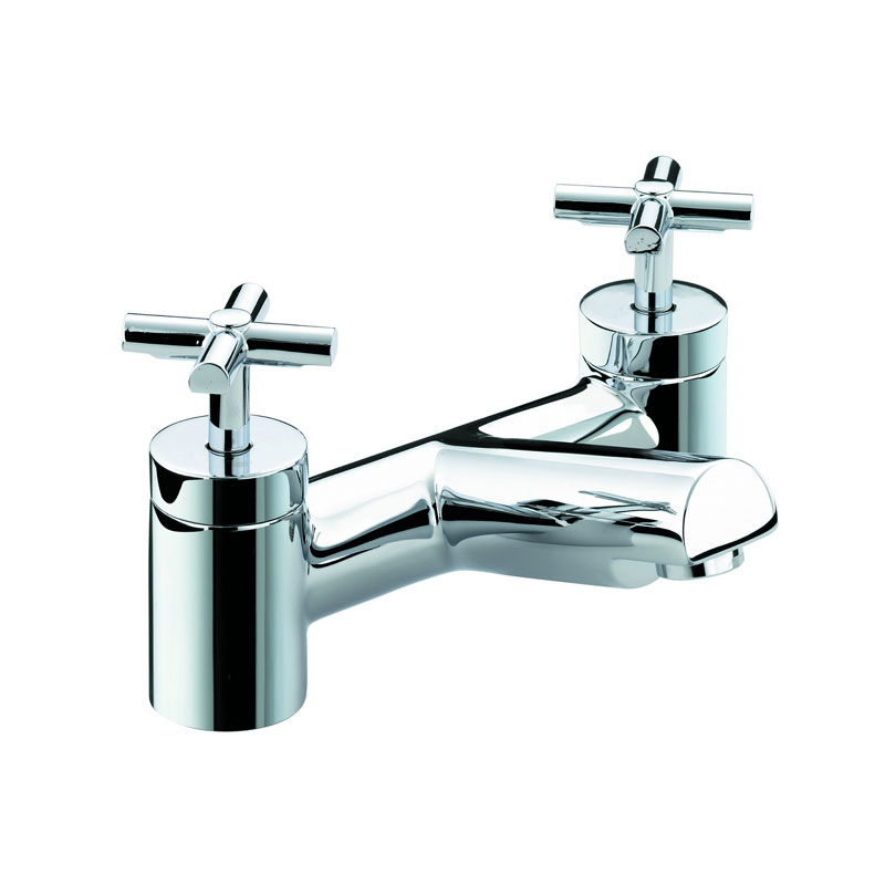 Bristan Quadrant Bath Filler - Chrome - QT-BF-C profile large image view 1
