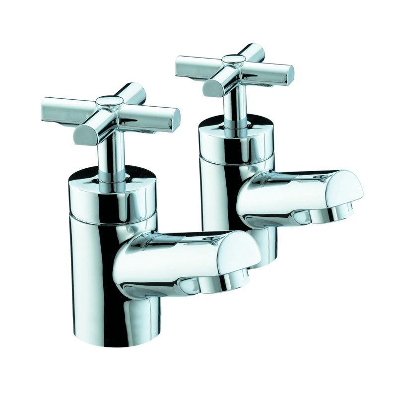 Bristan Quadrant Bath Taps - Chrome - QT-3/4-C Large Image