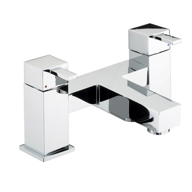 Bristan - Quadrato Bath Filler - Chrome - QD-BF-C Large Image